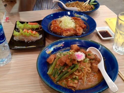 Lunch @ Oishi Ramen