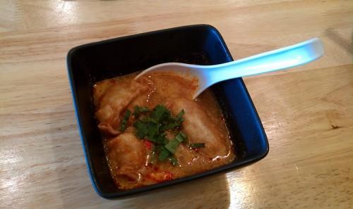 Tom Yum Gyoza - the best dish we had by far. 8/10.